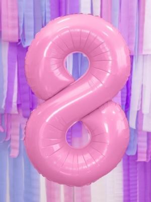 Pasteļu folija, 8, rozā, 86 cm