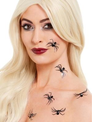 6 gab, zirnekļu uzlīmes