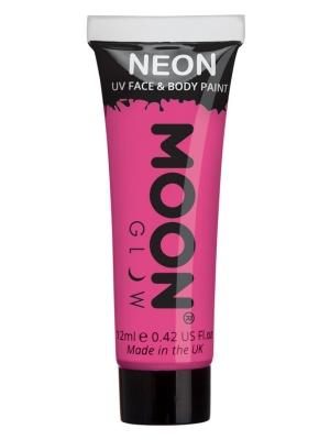 UV sejas un ķermeņa krāsa, tumši rozā, 12 ml