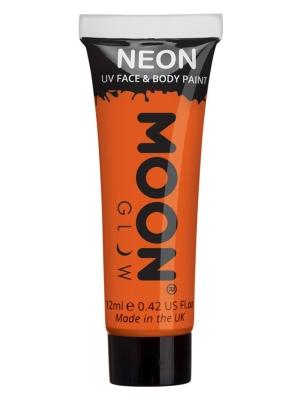 UV sejas un ķermeņa krāsa, oranža, 12 ml