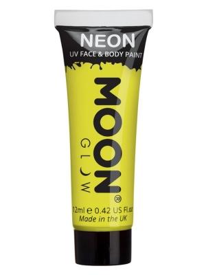 UV sejas un ķermeņa krāsa, dzeltena, 12 ml
