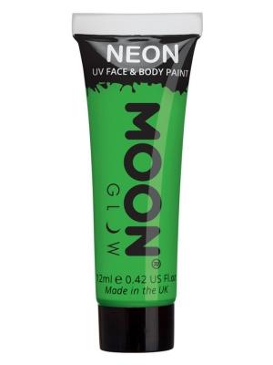 UV sejas un ķermeņa krāsa, zaļa, 12 ml