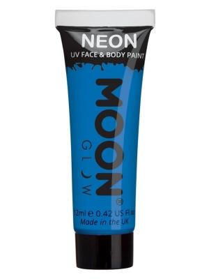 UV sejas un ķermeņa krāsa, zila, 12 ml