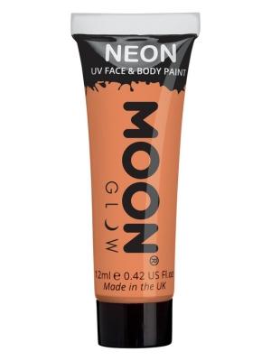 UV sejas un ķermeņa krāsa, pasteļtoņa oranžs, 12 ml