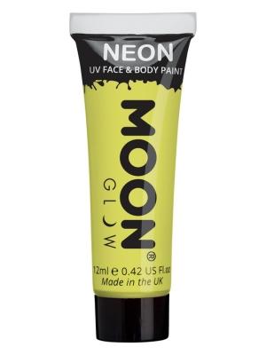 UV sejas un ķermeņa krāsa, pasteļtoņa dzeltens, 12 ml