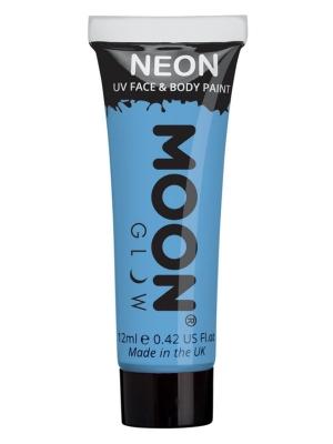 UV sejas un ķermeņa krāsa, pasteļtoņa zils, 12 ml