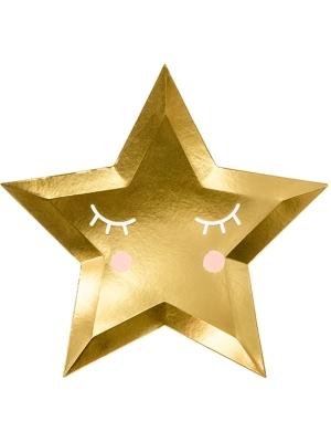 6 gab, Šķīvīši - zvaigznīte, 27 cm