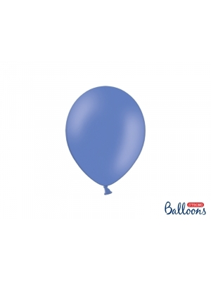 50 gb, Pasteļtoņu baloni, jūras zili, 23 cm