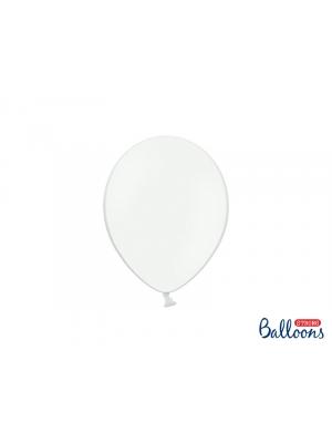 50 gb, Pasteļtoņu baloni, tīri balti, 23 cm