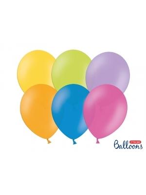 50 gb, Pasteļtoņu baloni, mix, 27 cm