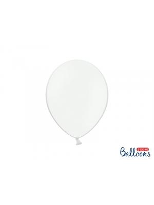 50 gb, Pasteļtoņa baloni, tīri balti, 27 cm