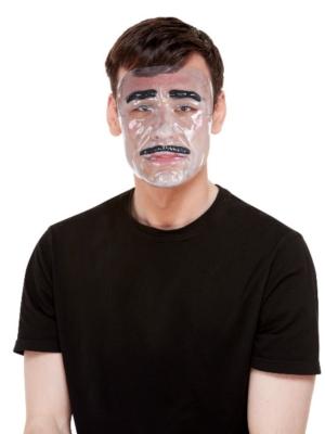 Caurspīdīga vīrieša maska