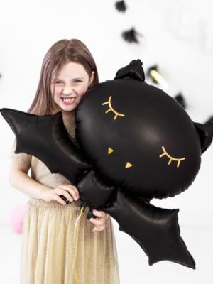 Folija balons sikspārnis, 80 x 52 cm