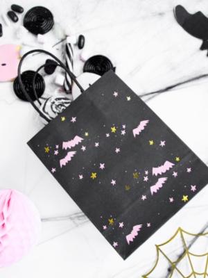 Dāvanu maisiņš Sikspārņi, 14 x 18 x 8 cm