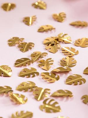 Konfeti lapas, zelta 1.5 x 2 cm, 15 g