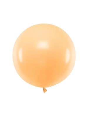 Pasteļtoņa balons, gaišs persiks, 60 cm