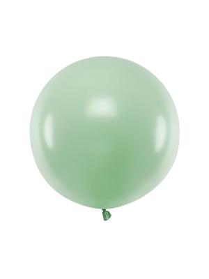 Pasteļtoņa balons, pistācijas, 60 cm