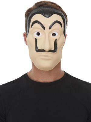 Salvadora Dalī vai bankas zagļa maska