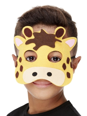 Žirafes flīsa maska