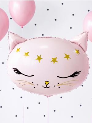 Folija balons - Kaķītis, 48 x 36 cm