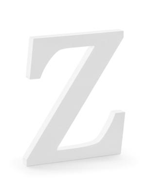 "Koka burts ""Z"", balts, 17 x 20 cm"