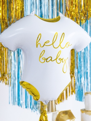 "Folija balons bodijs ""Hello baby"", 51 x 45 cm"