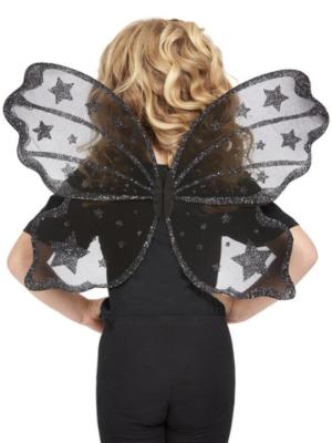 Tauriņa spārni, melni