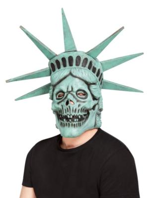 Brīvības statujas galvaskausa maska