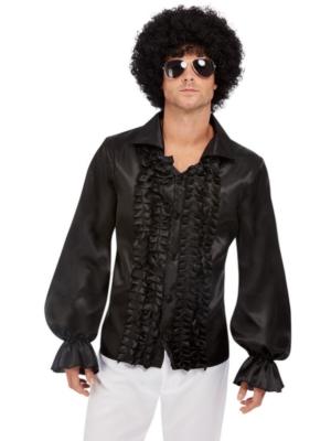 60-to gadu krekls, melns