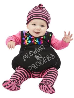 Kostīms - bērns raganas katlā, (6-9 mēneši)