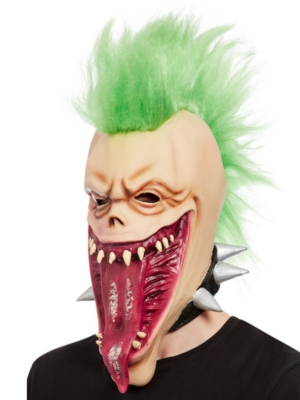 Panka galvaskausa maska ar matiem