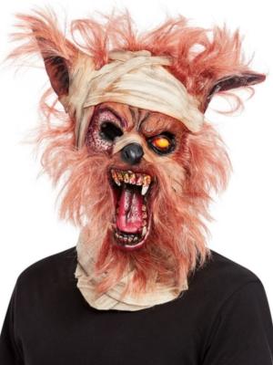 Vilkača mūmijas maska