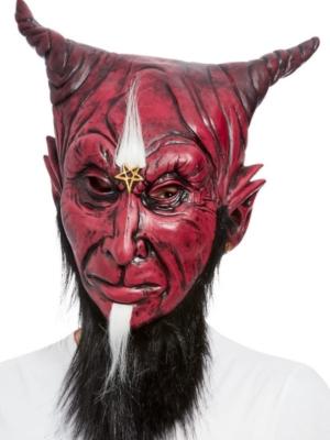 Bārdainā sātaniskā velna maska