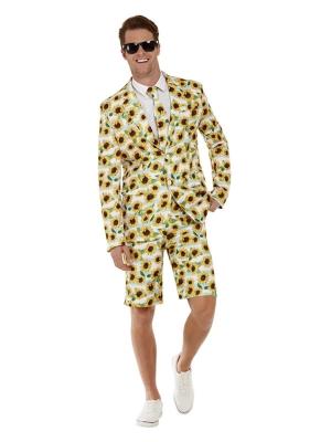 Uzvalks ar saulespuķu apdruku