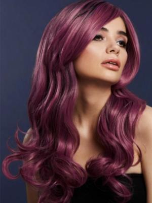 Parūka Khloe, gaiši violeta, 66 cm