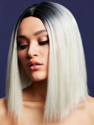 Parūka Kylie, ledus blonda, 37 cm
