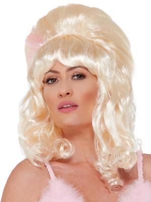 Parūka 60-to gadu stilā, blonda