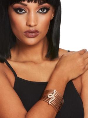 Ēģiptiešu stila rokassprādze, zelta