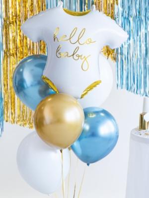 "Hēlija pušķis ""Hello baby - 7 baloni"""