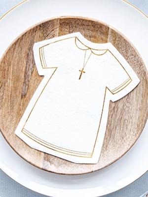 20 gb, Papīra salvetes kristībām 14 x 16 cm