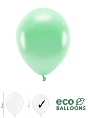 100 gab, Perlamutra eko baloni, piparmētras, 26 cm