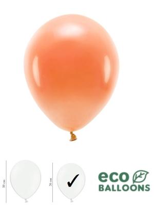 100 gab, Pasteļu eko baloni, oranži, 26 cm