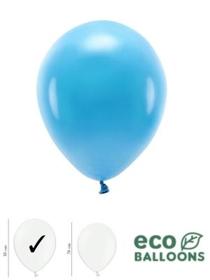 100 gab, Pasteļu eko baloni, tirkīza, 30 cm