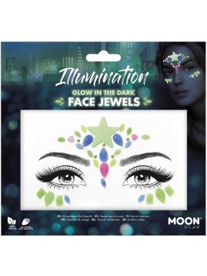 Dimantiņi sejai - Illumination, spīd tumsā