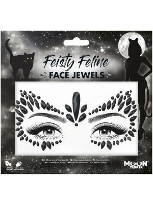 Dimantiņi sejai -  Feisty Feline