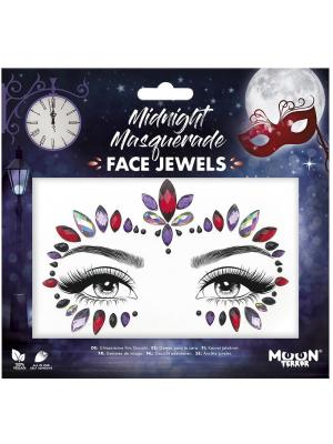 Dimantiņi sejai - Midnight Masquerade