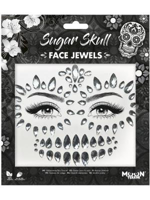 Dimantiņi sejai - Sugar Skull