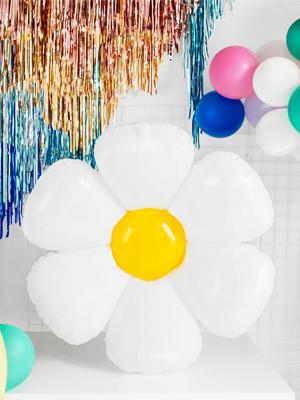 Folija balons Margrietiņa, 75 x 71 cm
