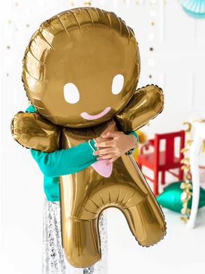 Folija balons Piparkūku vīriņš, 58 x 86 cm
