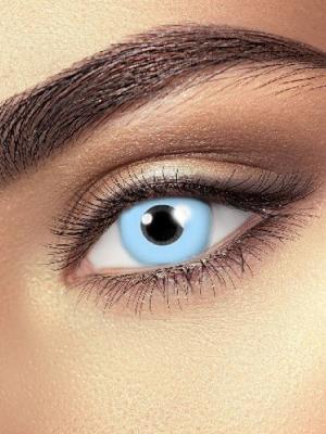 Lēcas ledus zilā acs, zilas